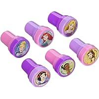 "amscan 397324 Disney Princess Dream Big Stamper Set Favors, Pink,purple, 1"" x 1 1/2"""