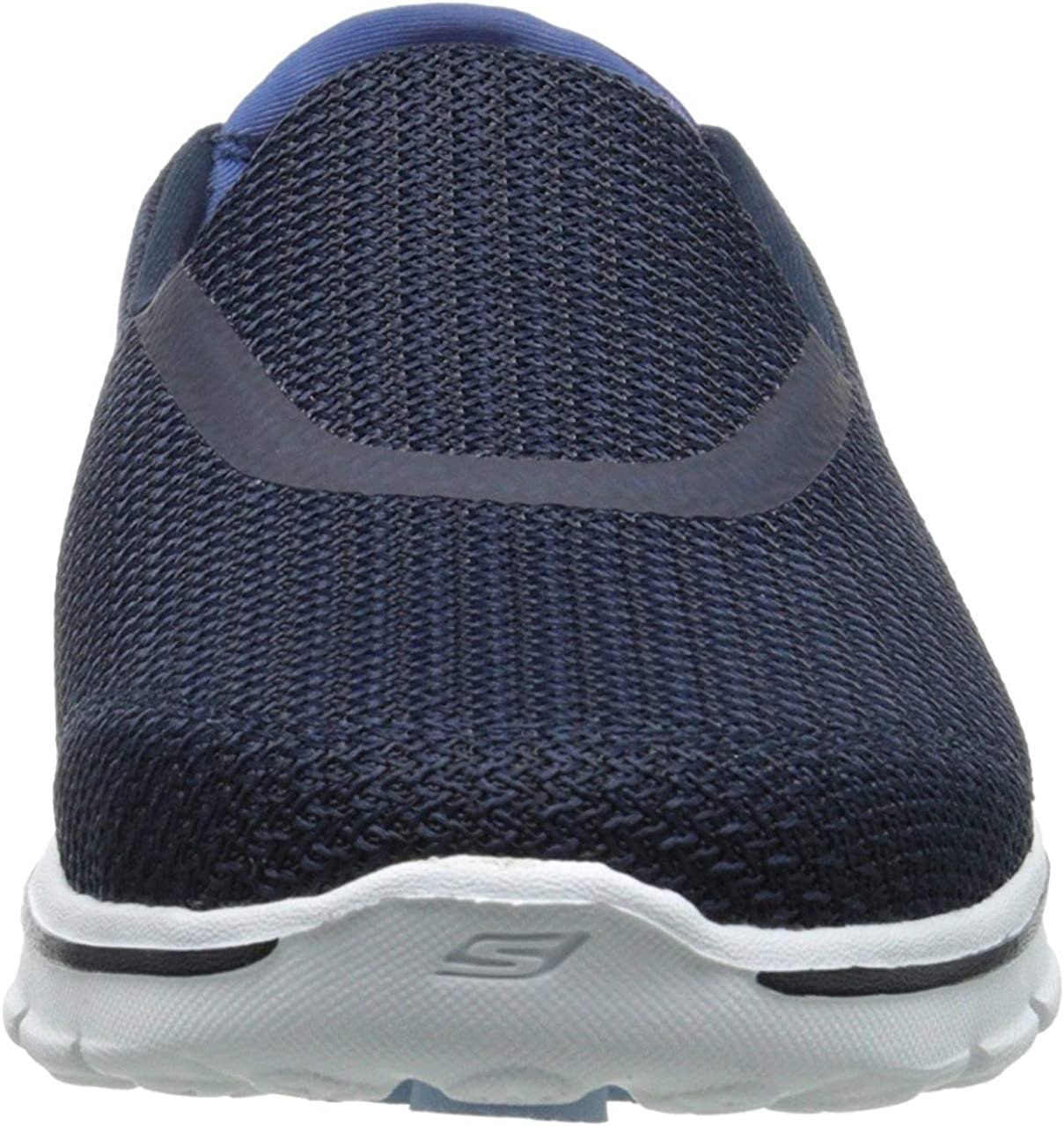 Skechers Go Walk 3, Zapatillas Mujer Azul Nvw IPe6M