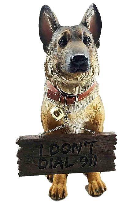 Amazon.com: Pedigree Canine Guard Dog Unit German Shepherd Figurine ...