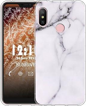 Sunrive Funda para Xiaomi Mi A2 Lite 5,84 Pulgadas, Silicona Slim ...