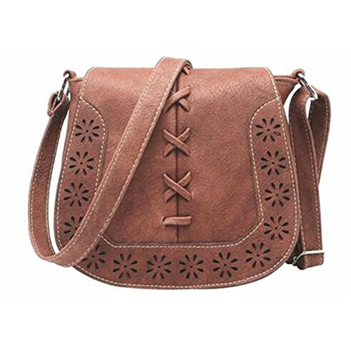 Image Unavailable. Image not available for. Color  Acereima Women  s Handbag  Spanish Brand 2018 hollow out Crossbody Bags Women Leather Handbags Shoulder db70fd48480b9