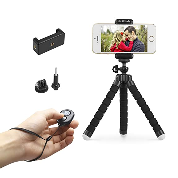 BestTrendy Iphone Tripod Portable Mini Phone Flexible Smartphone Stand Holder For Cellphone Digital