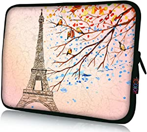 """iColor 17"""" Laptop Sleeve Bag 17.3"""" 17.4"""" inch Notebook Computer PC Neoprene Protection Zipper Case Cover Pouch Carrier Holder"""