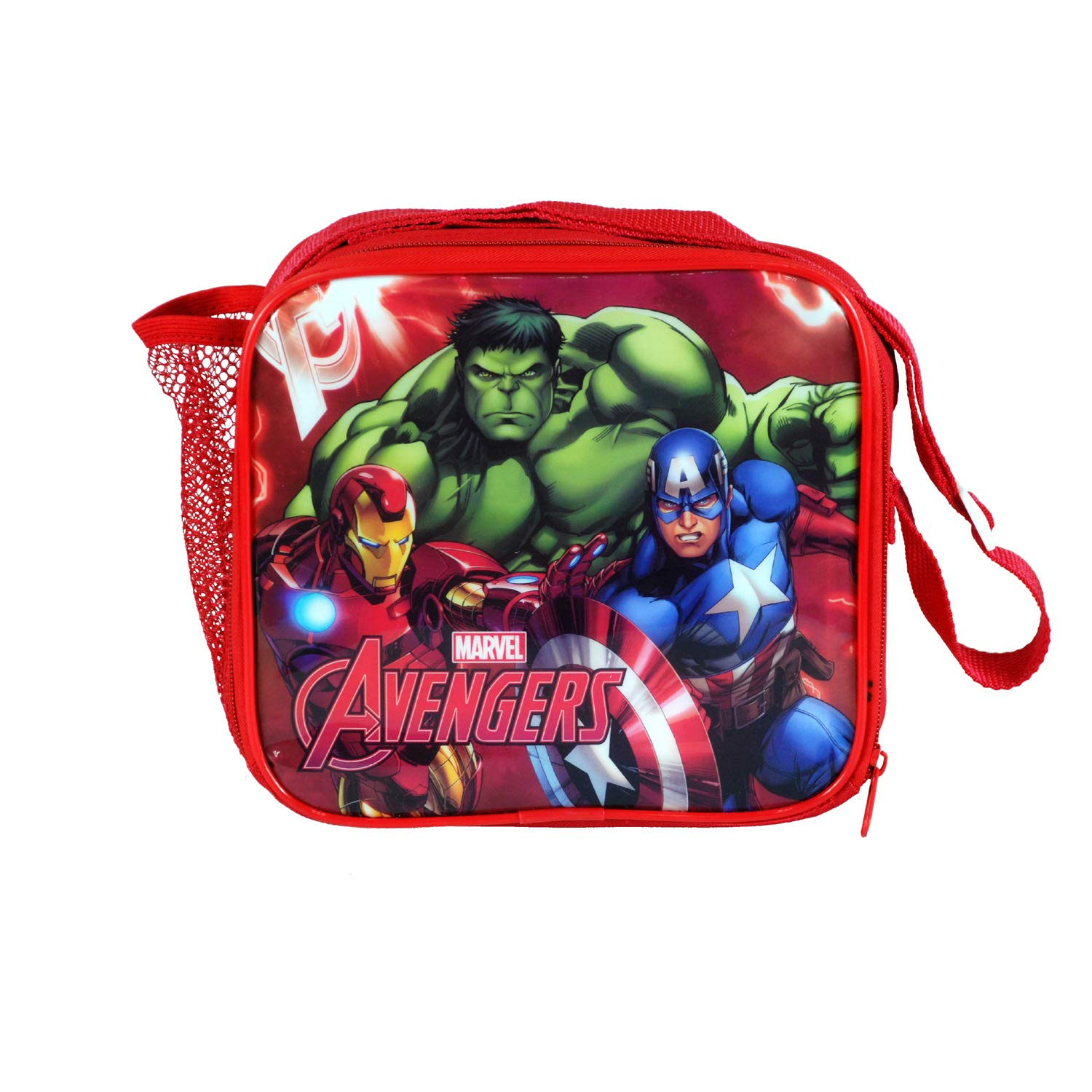 Templar Distributors Ltd Avengers 8PC Back to School Bundle Coin Pouch Pencil Case /& Stationery Set. Drawstring Sports Bag inc Backpack Sandwich Box Insulated Lunch Bag Water Bottle