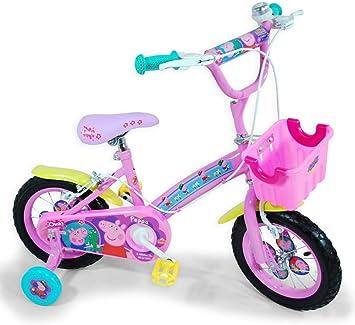 Peppa Pig - Bicicleta con Ruedas de 12 (Saica Toys 9124): Amazon ...