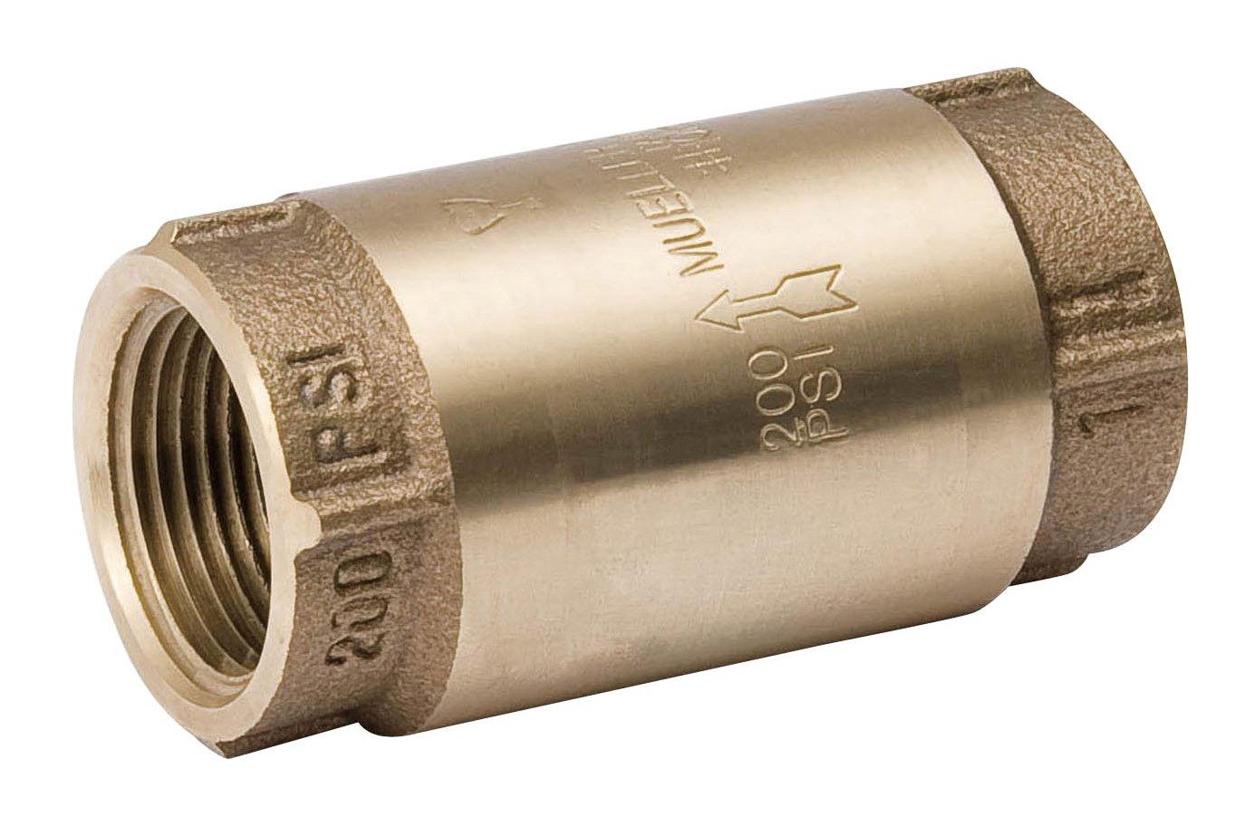 3//4 Proline 101-304NL Low Lead Bronze In-Line Check Valve