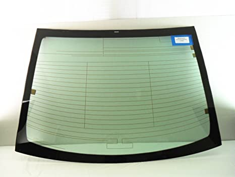 NAGD Heated Back Window Back Glass Compatible with Toyota Yaris 4 Door Sedan 2007-2012 Models