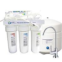 Sistema óptimo de filtración de agua potable por ósmosis inversa Naples Naturals, paquete eliminador de contaminación…