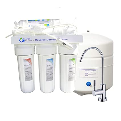5c8788a789a Naples Naturals SPR505BX1 Standard Reverse Osmosis Water Filter System   Amazon.com  Home Improvement