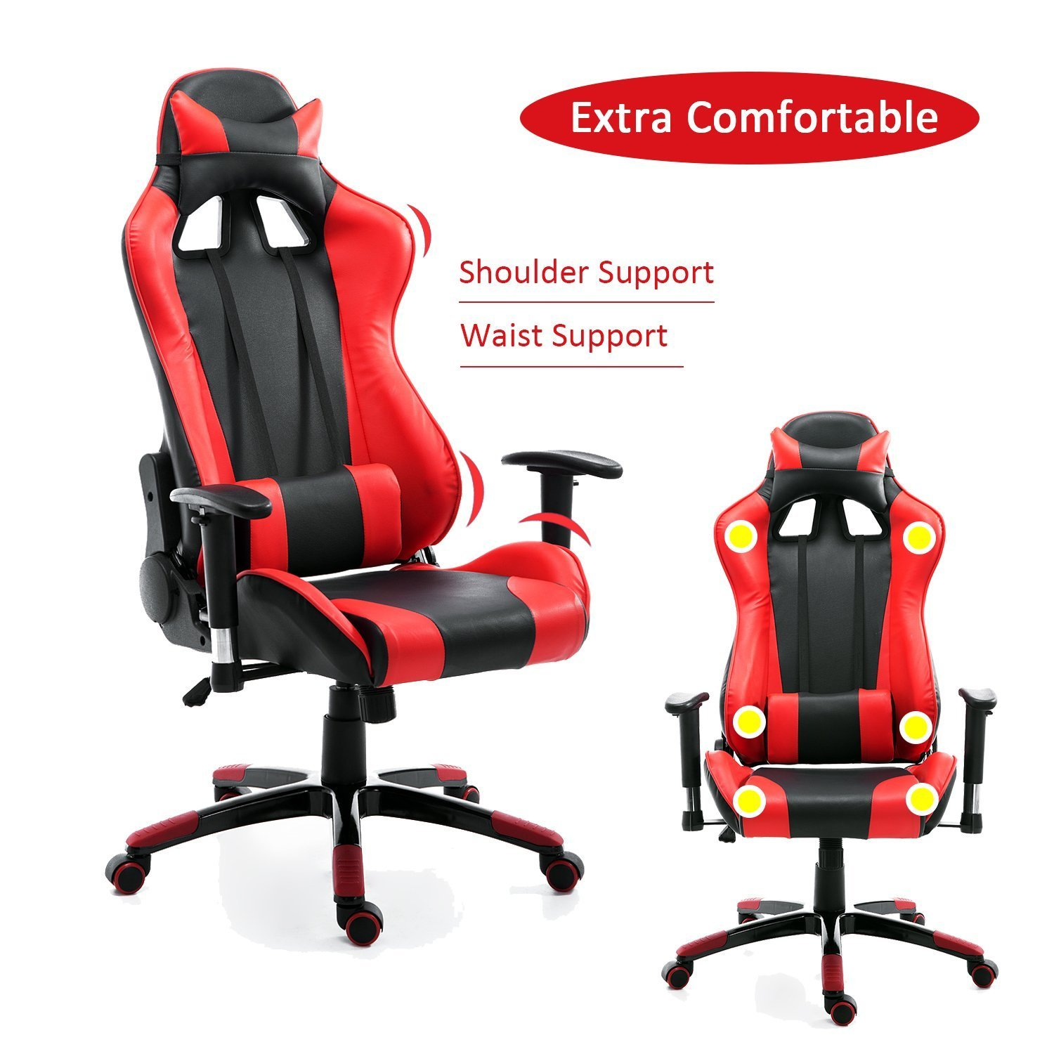 evo gaming xtracing desk gt pul omega office recliner esports seat product red racing chair xt