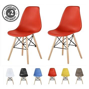 De Chaises Mccrouge Au ScandinaveLia Style Lot Moderne 2 Par Design UMpVqzS