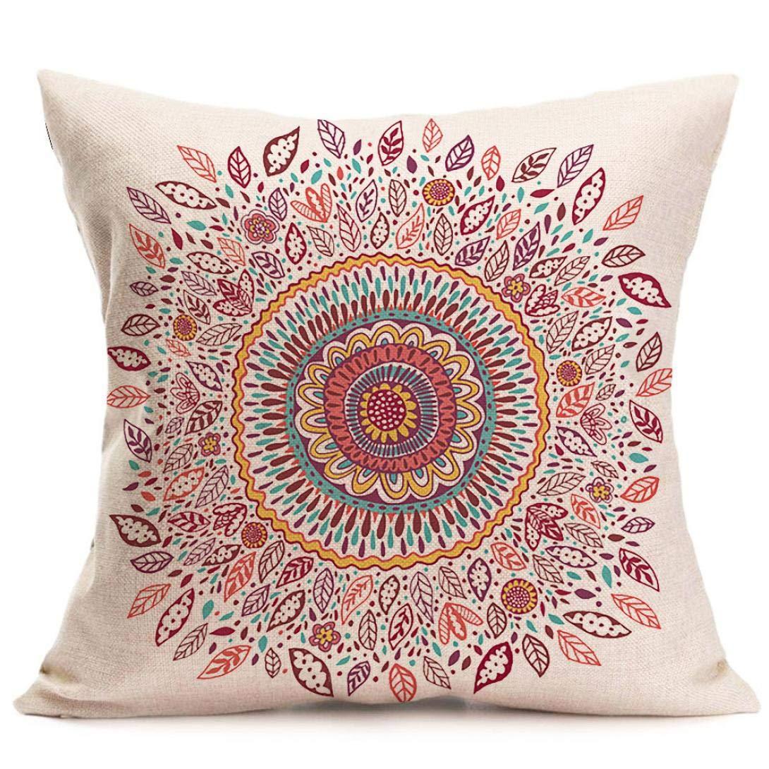 Amazon.com: Challyhope - Funda de almohada estilo bohemio ...