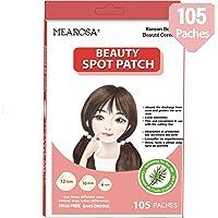 Mearosa - Parches de sanación de acné; cubierta absorbente, parche de manchas hidrocoloide, parche de belleza, 3 tamaños…