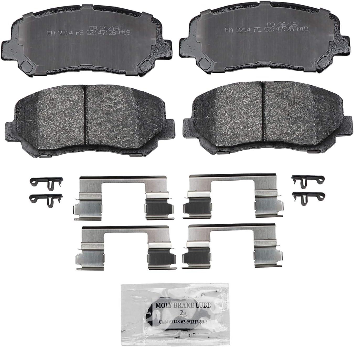 Wagner SevereDuty SX1640 Semi-Metallic Disc Brake Pad Set