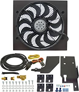 Derale 20161 Jeep Wrangler Direct Fit Electric Fan Kit