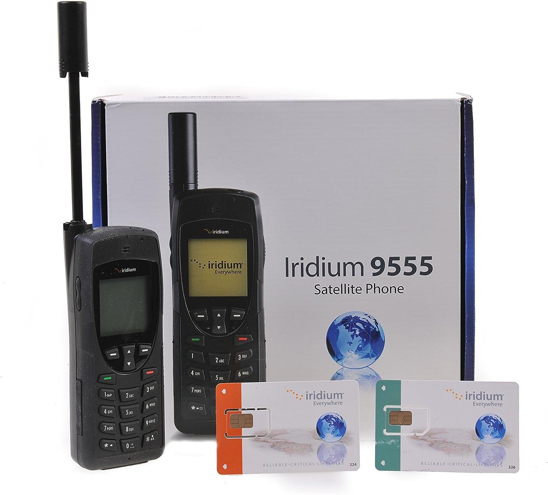 Iridium 9555 Teléfono vía satélite con Tarjeta SIM de Prepago GRATUITA: Amazon.es: Electrónica