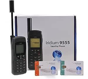 Iridium 9555 Teléfono vía satélite con Tarjeta SIM de