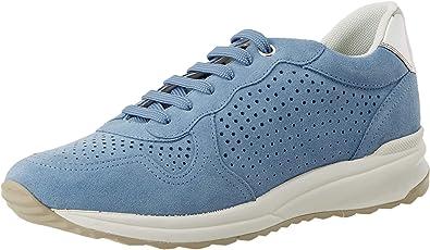 Mathis sesión Sur oeste  Geox Mujer D Airell B Zapatillas: Amazon.es: Zapatos y complementos