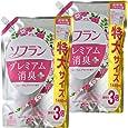 【まとめ買い 大容量】ソフラン プレミアム消臭プラス 柔軟剤 フローラルアロマの香り 詰め替え 1440ml×2個
