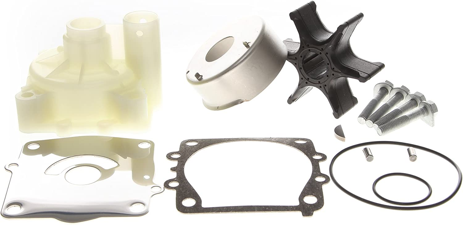 REPLACEMENTKITS.COM - Brand Fits Yamaha Outboard Water Pump Impeller Kit 61A-W0078-A2 & A3 with HOUSING