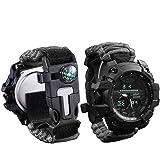 wejie Survival Bracelet Watch,...