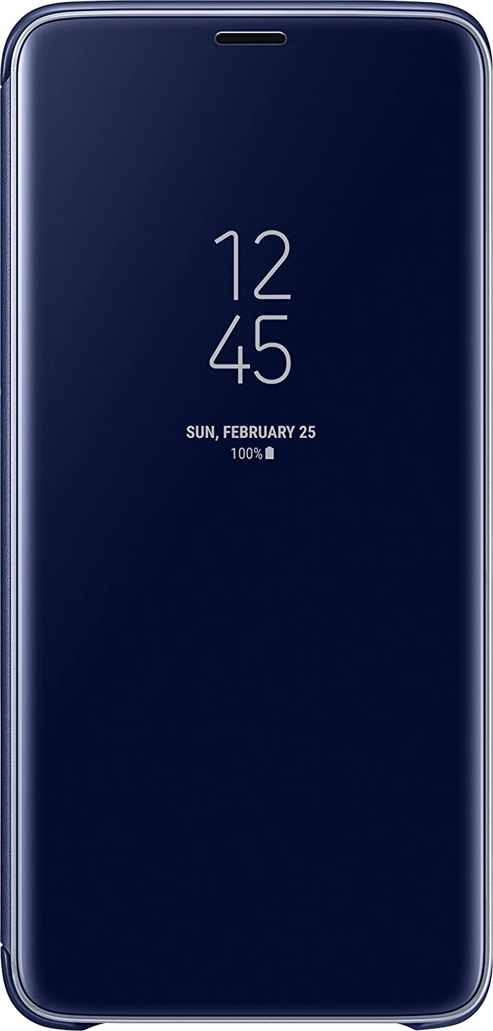 Samsung Clear View Standing Cover - Funda para Galaxy S9+, color azul