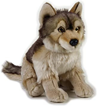 9770758 National Geographic Wolf Peluche Color Gris