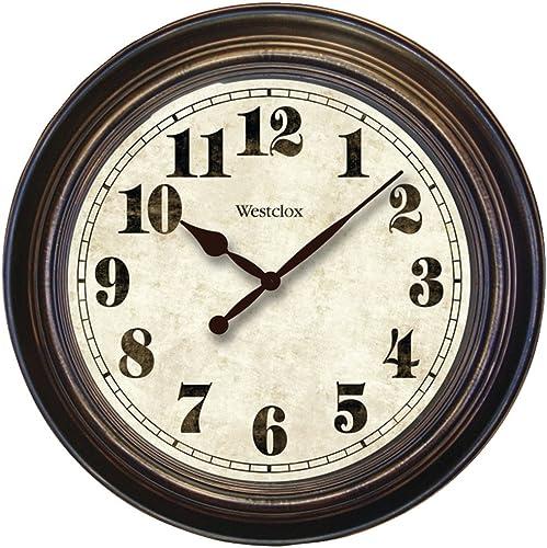 NYL32213 – WESTCLOX 32213 24 Round Oversized Classic Clock