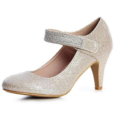 new product 94d7d 1ce42 TAOFFEN Damen Slip Ons Pumps Stiletto, crocs Stretch Sole Herren Slipper ,