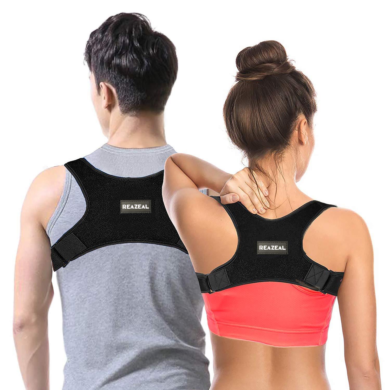 Bangbreak Posture Corrector for Men&Women Effective-Adjustable Shoulder&Back Brace Support Improve Upper Back Shoulder Posture by Bangbreak
