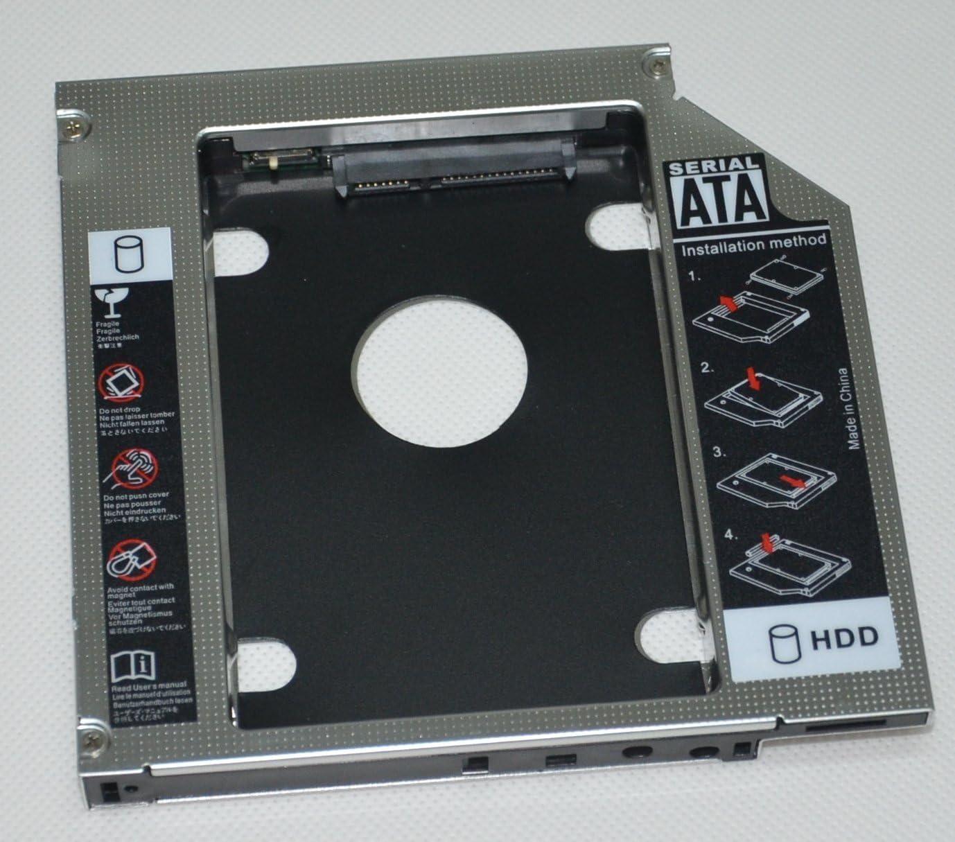 Deyoung 2nd Hard Drive HDD SSD Caddy for Sony VAIO VPCEB26FG VPCEB2E1R VPCF13z1e VPCF22C5E