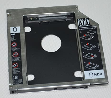 DeYoung 2 nd HDD SSD disco duro Caddy Adaptador para Toshiba ...