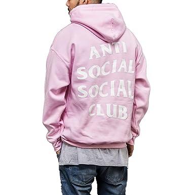 7ad6065ea3326 Kardiance Pink Anti Social Social Club ASSC Hoodie Hoody  Amazon.co ...