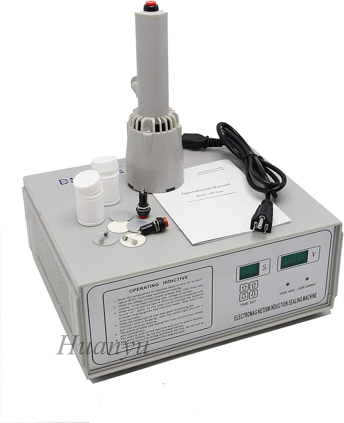 Portable Induction Sealer Sealing Machine 15~35mm New 220V  ONLY