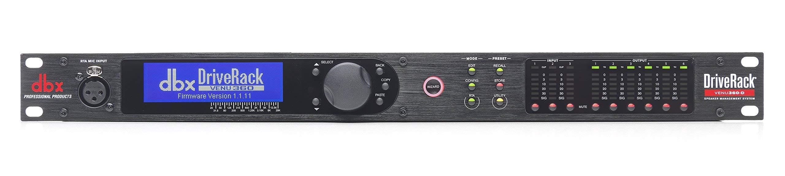 dbx DriveRack VENU360 Complete Loudspeaker Management System, 1 ( (Renewed)