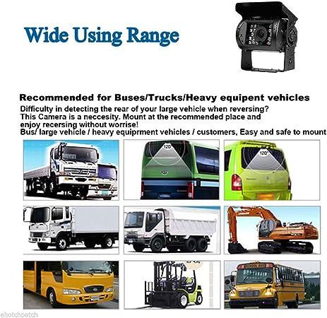12 V 24 V 4 Pin Bus Lkw Anhänger Heavy Duty 18 Ir Leds Elektronik