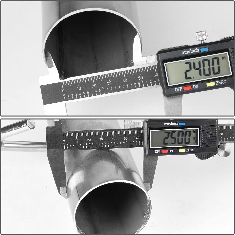 DNA MOTORING CBE-JW00-25L Catback Exhaust System for 00-06 Jeep Wrangler 2.5L 4.0L