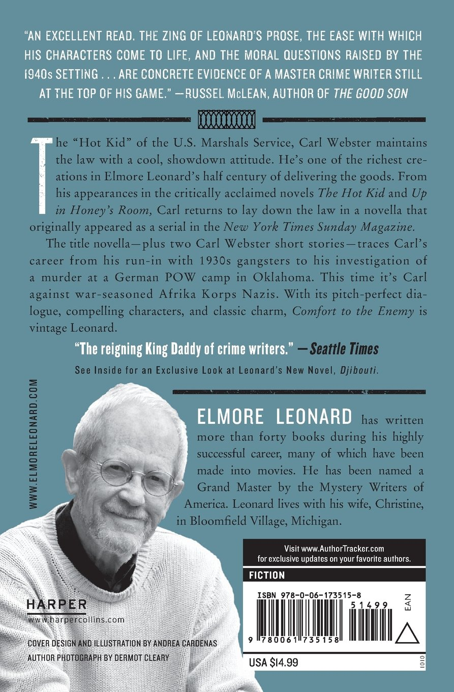 Comfort to the Enemy and Other Carl Webster Stories: Elmore Leonard ...