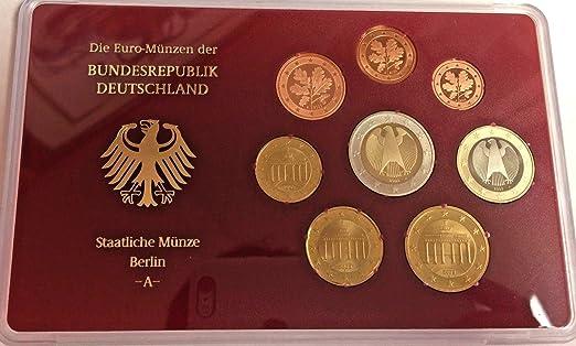 De 2003 Germany 2003 D Official Euro Coins Set Berlin Min Good At