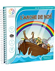 Smartgames - SGT 240 FR - Jeu de Société - L'Arche de Noé - 48 Défis