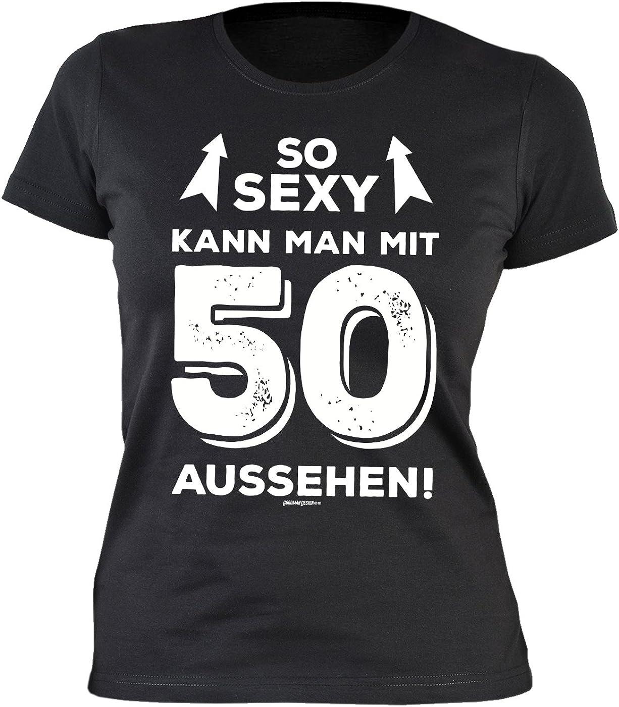T-Shirt Zum 50. Geburtstag Damen