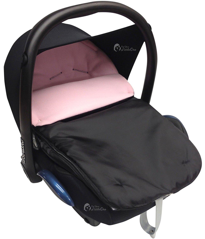 de color turquesa compatible con Maxi-Cosi Cabrio Saco para silla de cochecito de beb/é c/ómodo y acogedor
