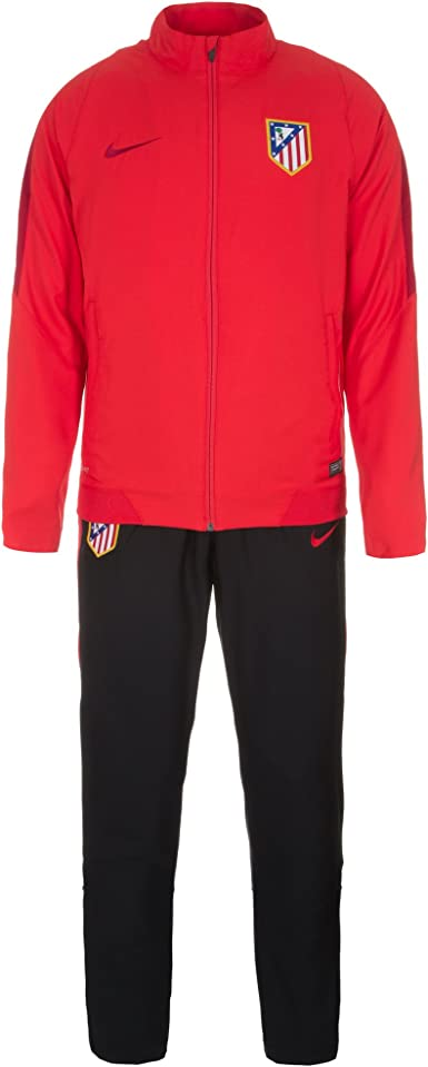 Nike 2015 – 2016 Atletico Madrid Woven Tracksuit (Red), Rojo, XXL ...