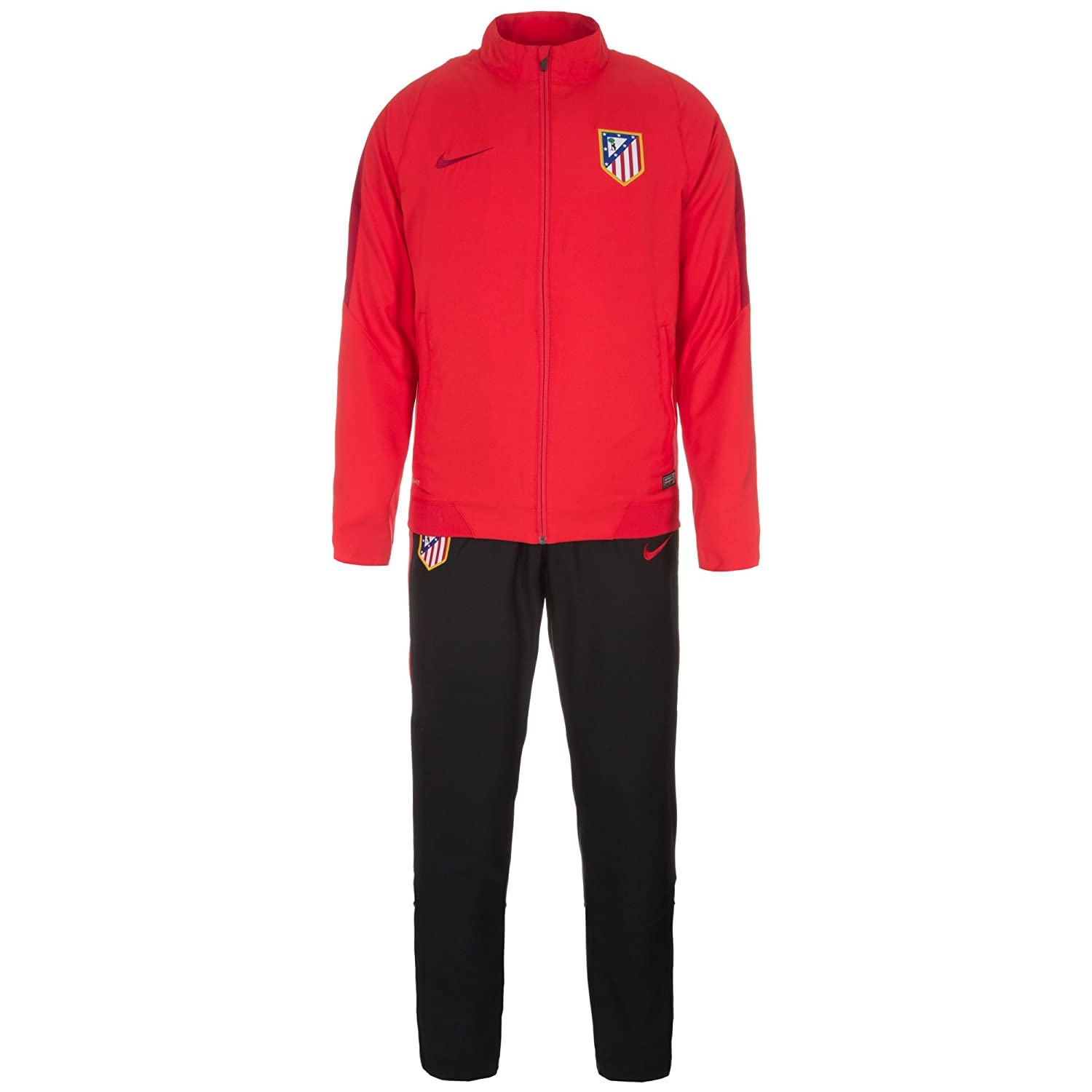 Nike 2015 - 2016 Atletico Madrid Woven Tracksuit (Red), Rojo ...