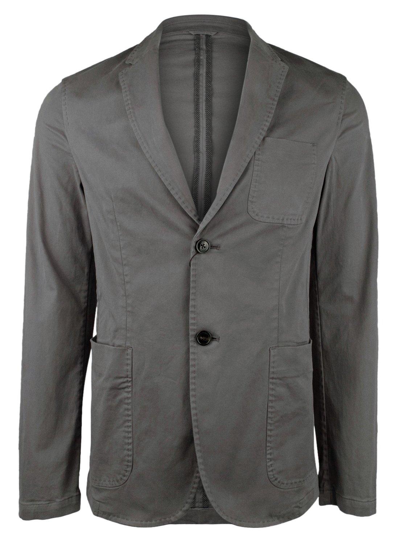 Michael Kors Men's Classic-Fit Dyed Sport Coat, 40R, Gray