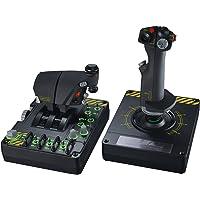 Saitek Système X-55 Rhino H.O.T.A.S. - mains sur manche + commandes d'accélération Pro Flight pour PC