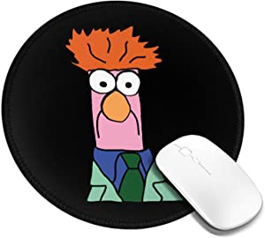 Be-Aker The Muppets Face Mouse Pad Customized Mousepad Non-Slip Mouse Pads for Computers Laptop Office Hemmed Mouse Pad 7.9x7.9 in