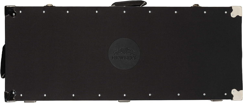 Newbery Cricket Legacy Cricket Coffin Black//Silver One Size