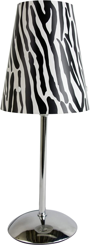 Limelights LT3024-ZBA Mini Stick Table Lamp, Zebra