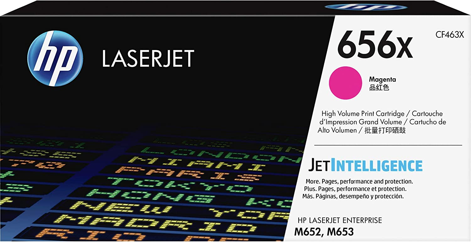 HP 656X | CF463X | Toner Cartridge | Magenta | High Yield